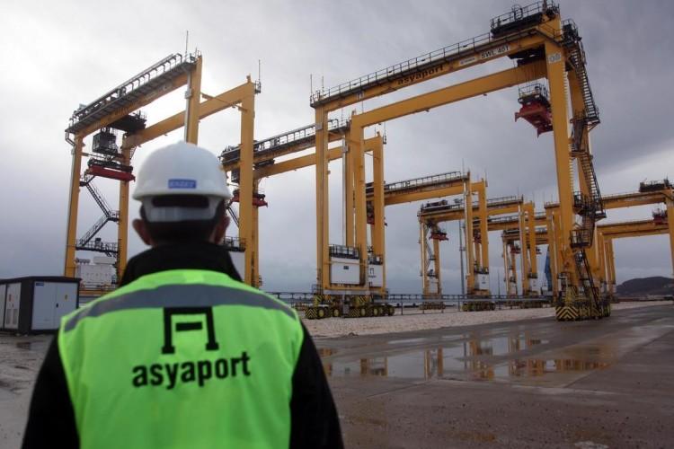 ASYAPORT'a ilk gemi bugün yanaşıyor