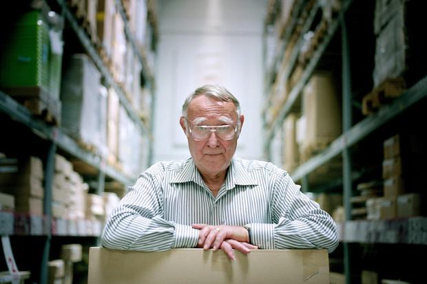 Kibrit ve çakmak satarak IKEA'yı kurdu: Ingvar Feodor Kamprad